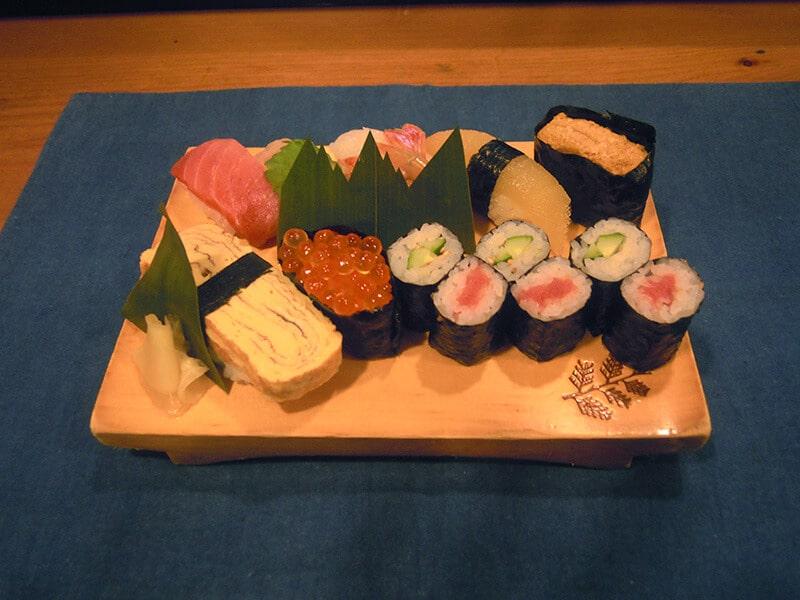 Luxury Sushi Plate