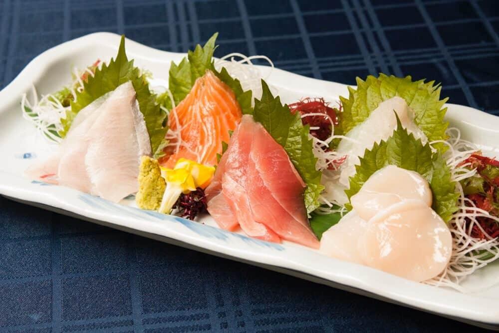 samurai sashimi set