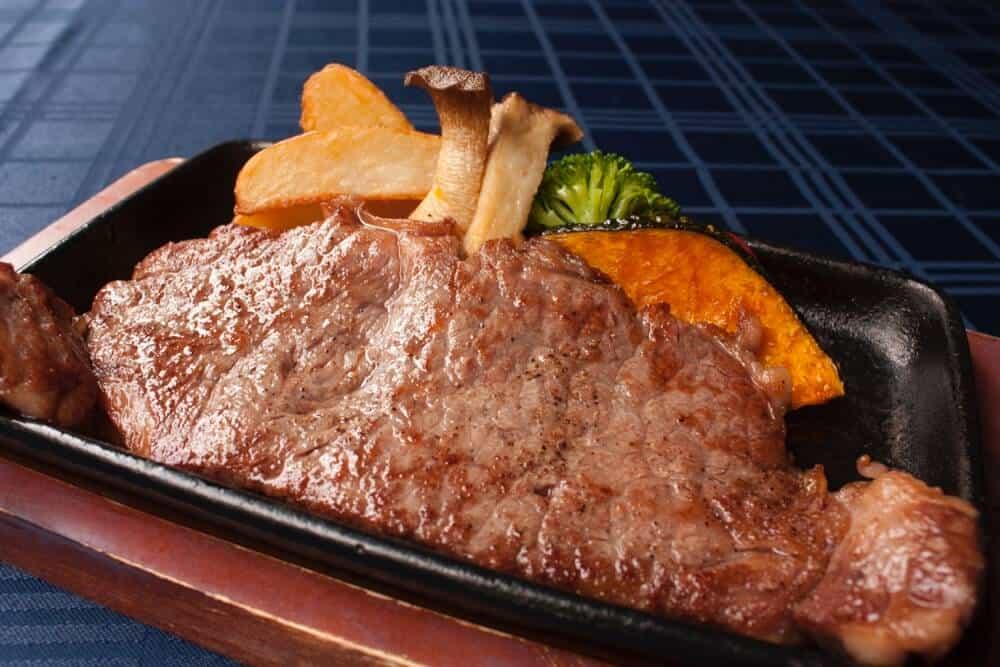 samurai wagyu steak 200g