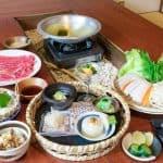 shabu shabu course set