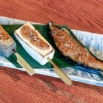vegetarian course yakimono