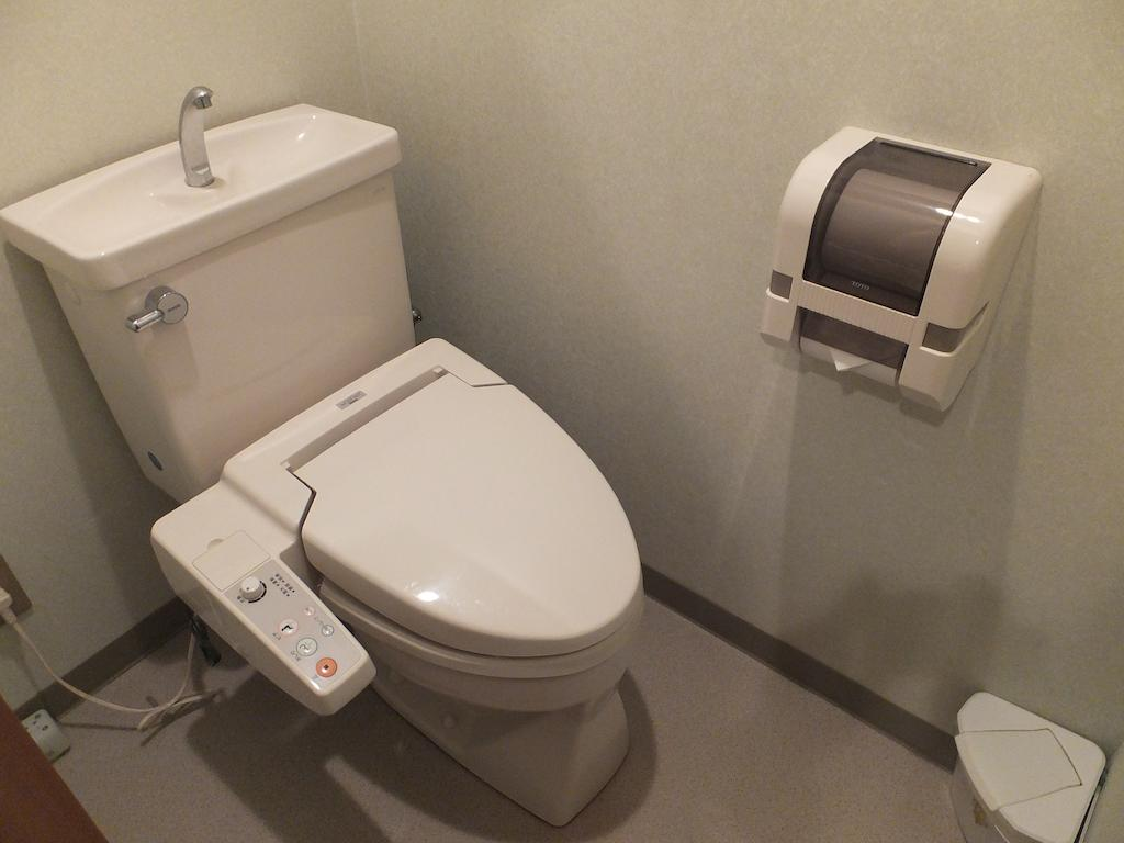 Wakui Hotel toilet