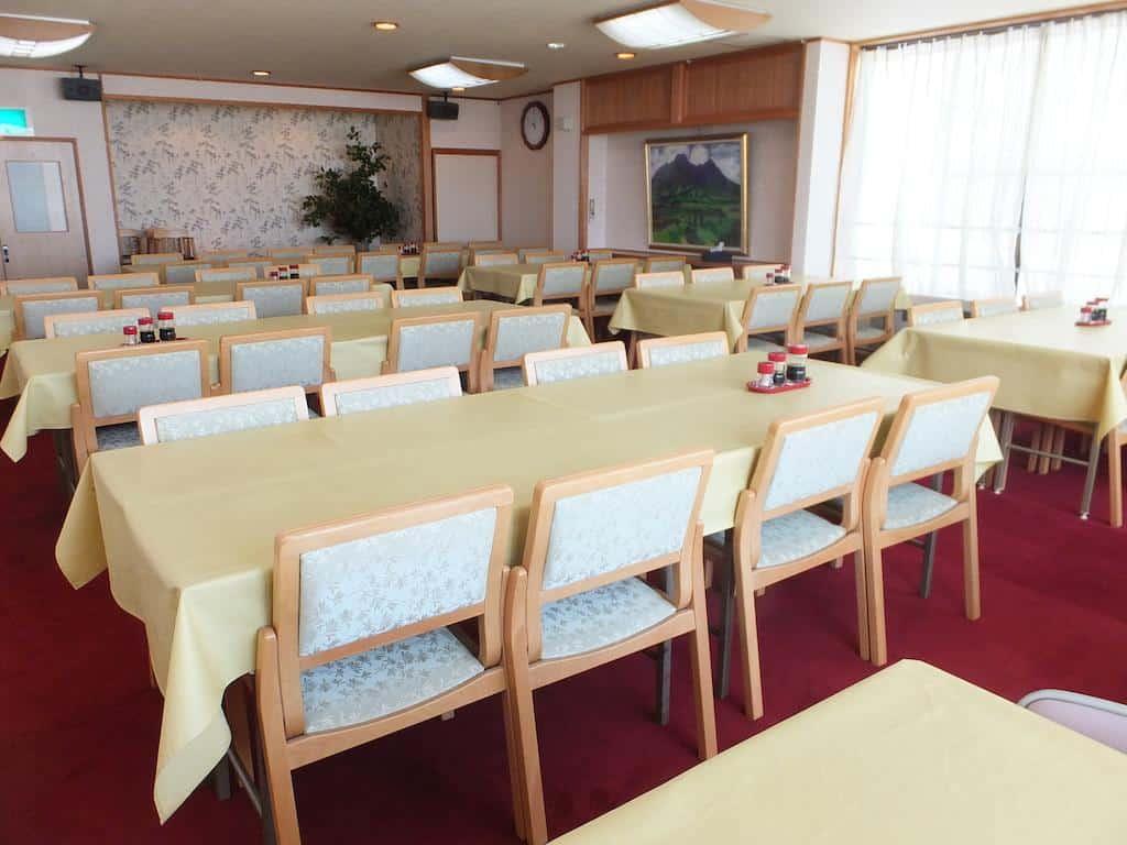 Wakui Hotel dining room