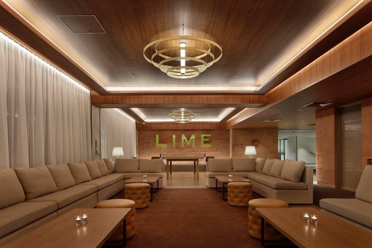 lime resort lobby