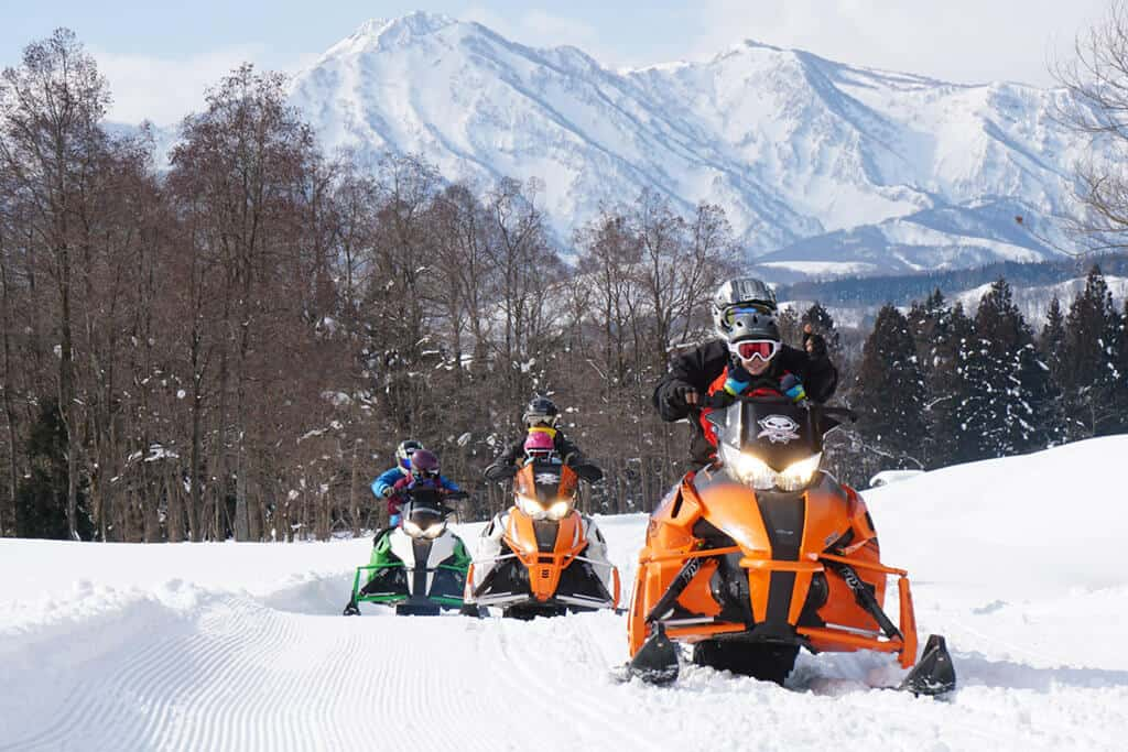 yukibancho snowmobile tour