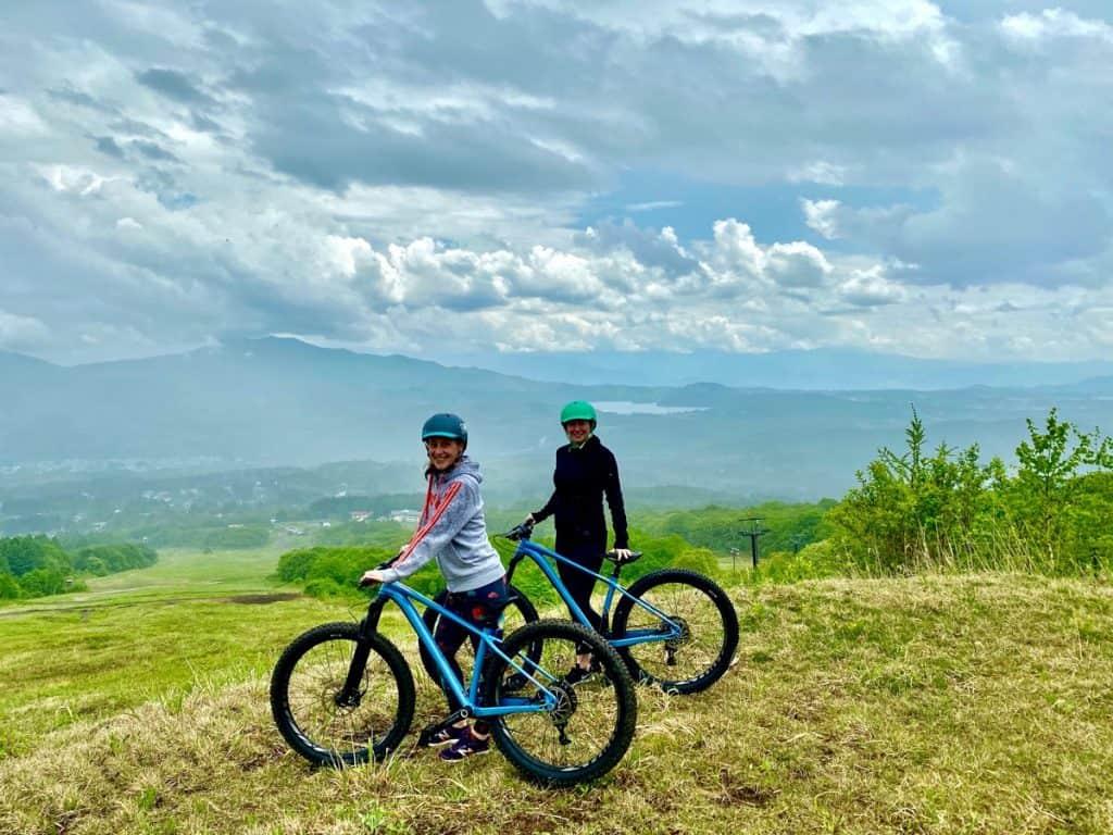 myoko mountain biking