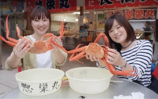 Itoigawa Crab Market