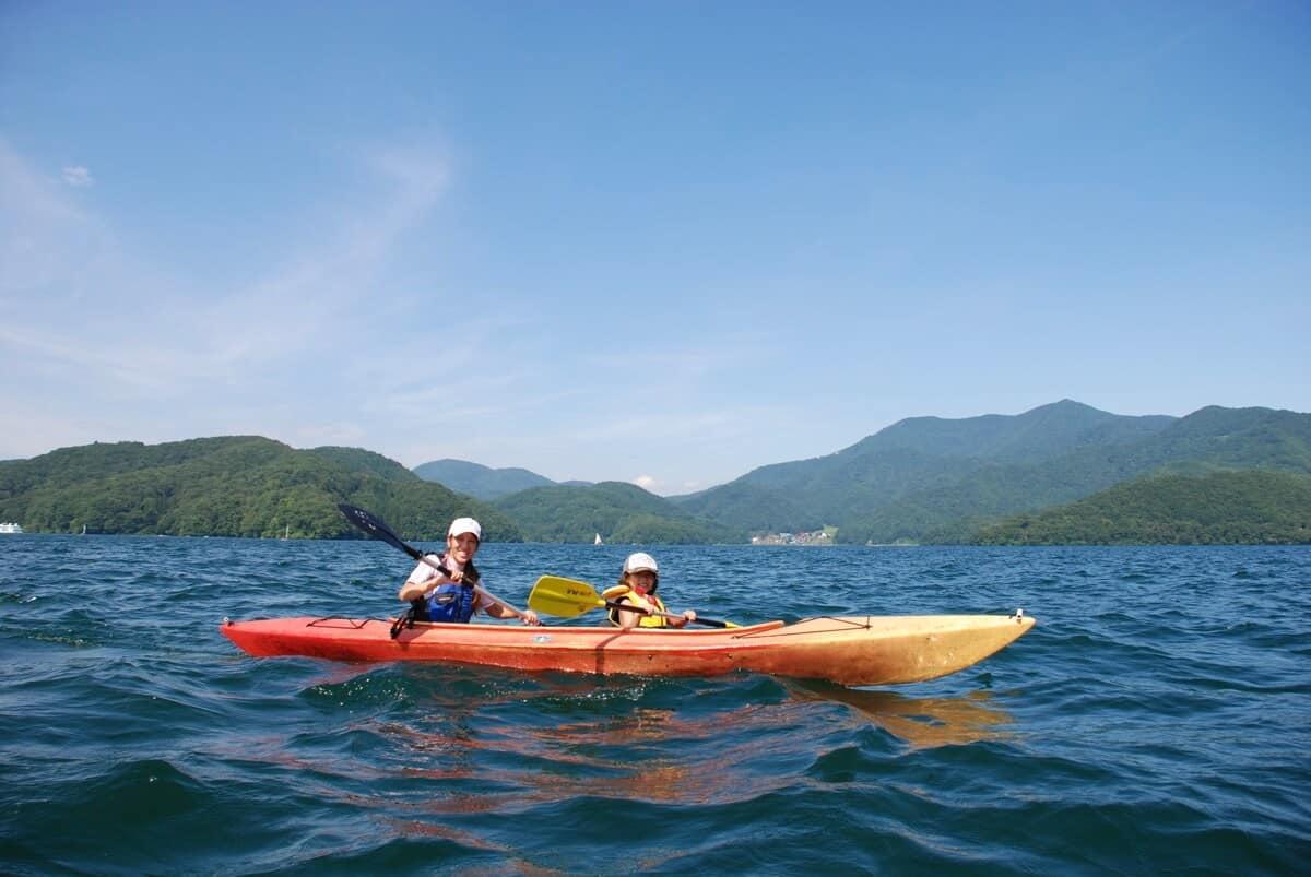 Nojiri Kayaking