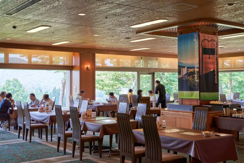 Apa Resort Joetsu Myoko Forest Golf Course restaurant
